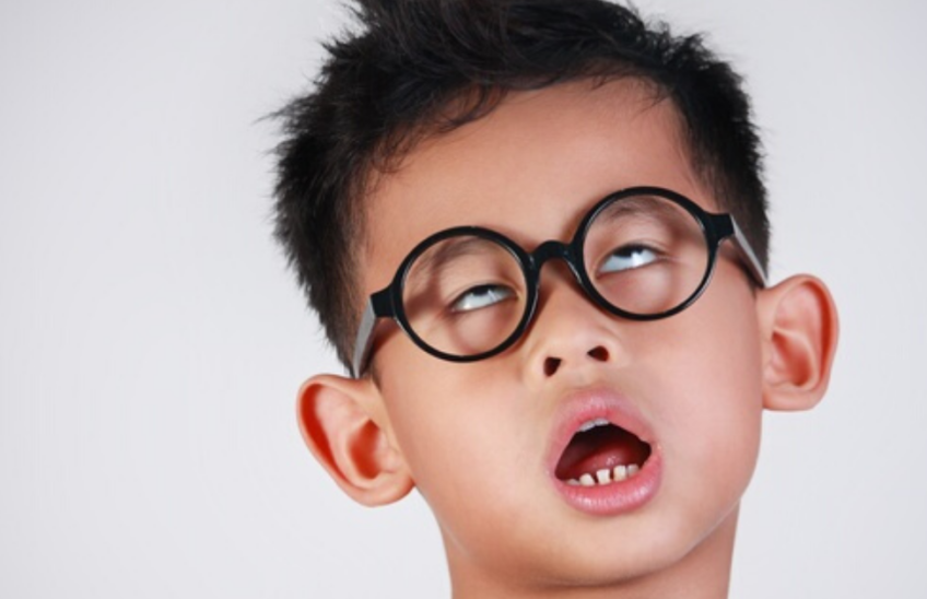 A Child Wearing Glasses Getting Bored During Coronavirus Quaratine